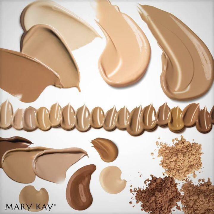 Mary Kay Foundations come in Age-Fighting TimeWise Matte-Wear Liquid Foundation for combination to oily skin or TimeWise Luminous-Wear Liquid Foundation for normal to dry skin, Mineral Powder Foundation, Eight-Hour Oil Control Medium-Coverage Foundation, Shine Control Creme-to-Powder Foundation, or Day Radiance Cream Foundation for really dry skin. Find your prefect foundation! http://www.marykay.com/lisabarber68 Call or text 386-303-2400