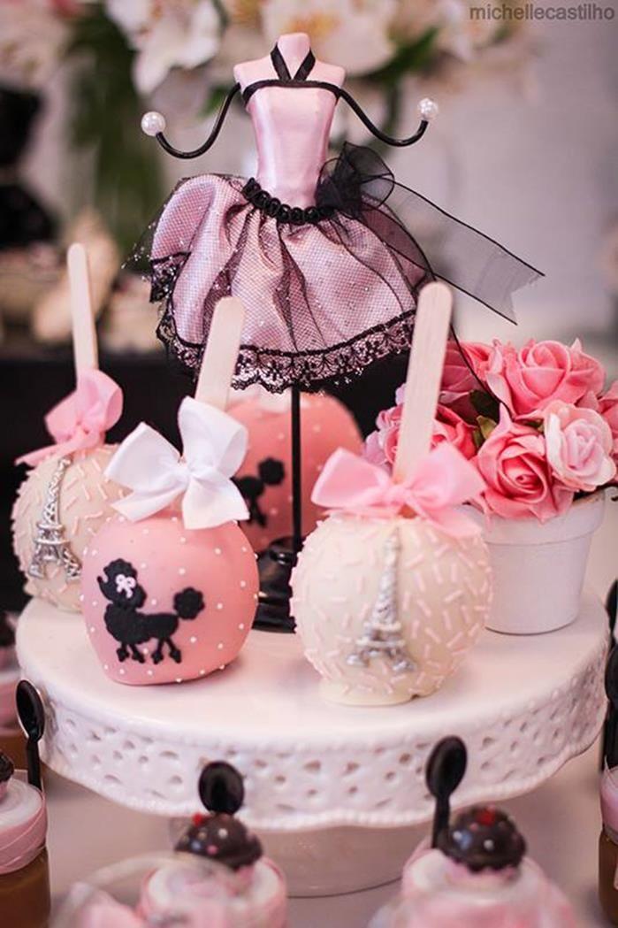 Pink Paris Birthday Party Planning Ideas Supplies Idea Chanel Cake