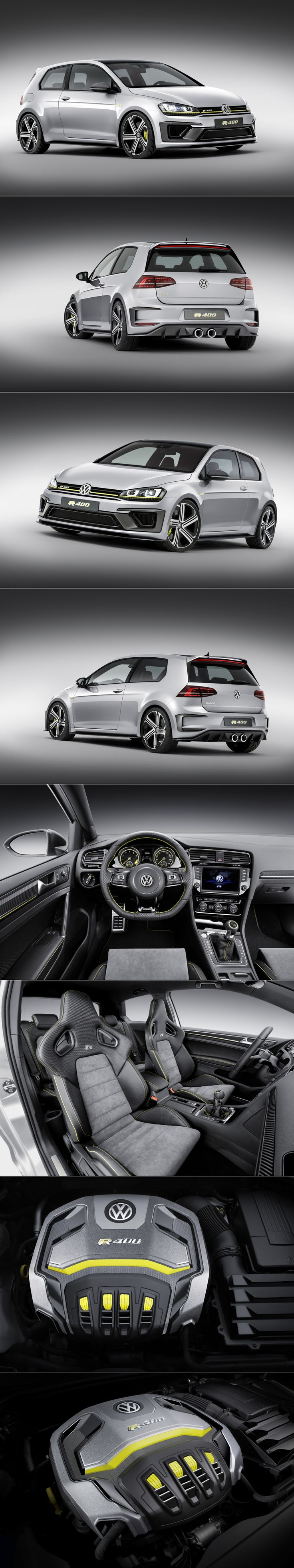 The VW 400 PS GOLF R 400 SPORTS CAR CONCEPT (RUMORED FOR PRODUCTION)