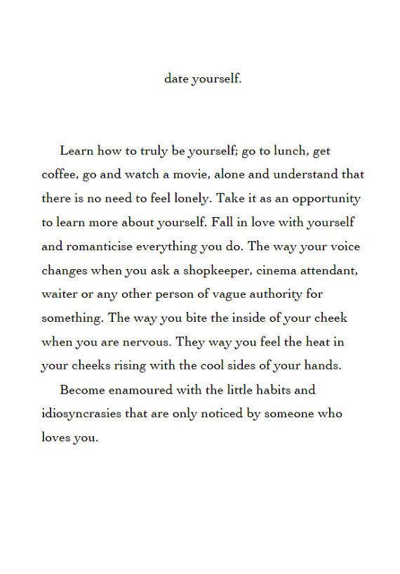 to fall in love with yourself  RadicalSelfLove by audreywrites, $4.00