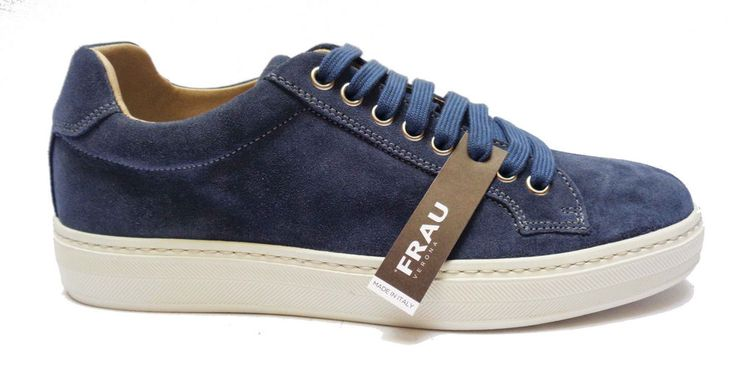 Scarpe uomo Frau 28C9 scarpe casual da uomo in camoscio col. Jeans   eBay