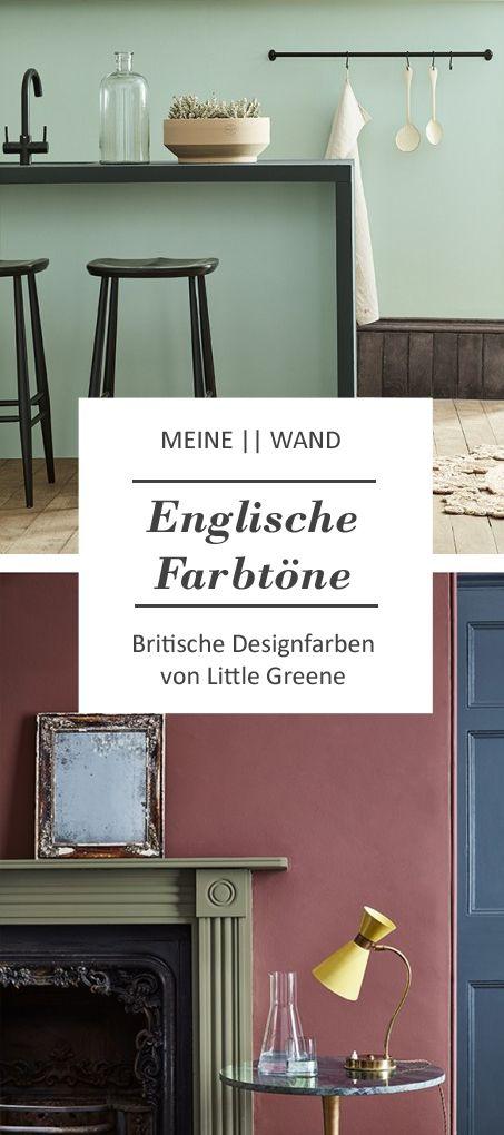Typisch englische Farbkombinationen für Wände un…