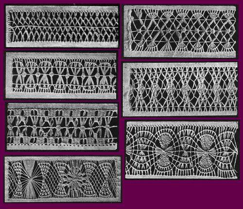 ... Needlecraft Practical Journal #38 c.1904 - Drawn Thread Work