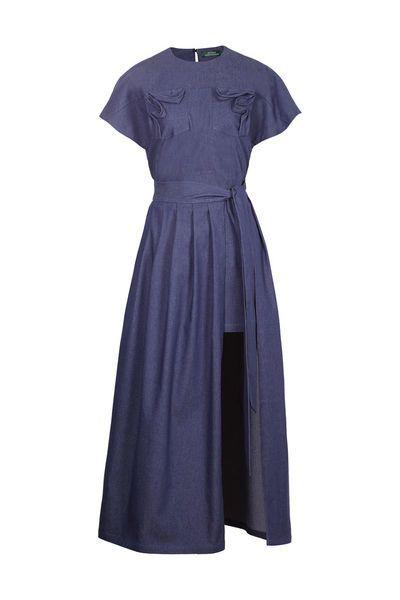 Комплект платье - фартук