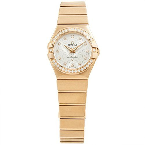 Omega Constellation quartz womens Watch 123.55.27.60.52.001 (Certified Pre-owned...