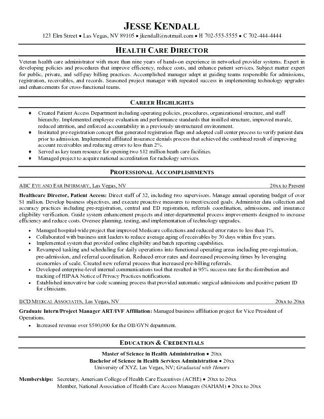 Healthcare Resume Objective Examples Resume Objective Sample Job Resume Samples