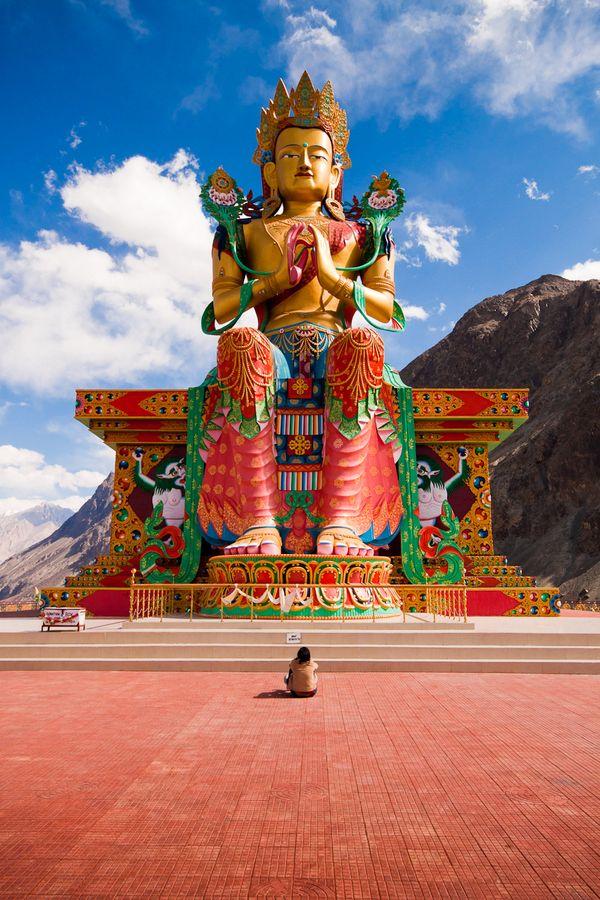 Diskit Monastery, Ladakh, India