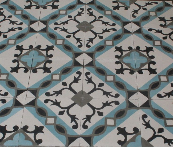 1m² Zementfliesen Marokko andalusia Vintage Fliese Musterfliesen Boden Wand 4311