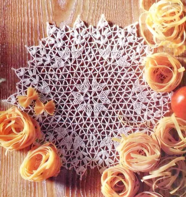 Crochet Pattern Simple Doily - Hexagon