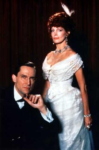 Jeremy Brett as Sherlock Holmes and Gayle Hunnicutt as Irene Adler - A Scandal in Bohemia (1984) - Granada Holmes