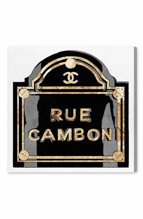 Oliver Gal 'Rue Cambon' Canvas Wall Art