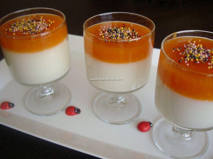 şeftali soslu cup