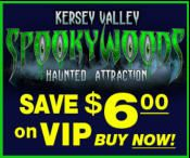 Greensboro-Winston Salem: Kersey Valley Spookywoods Haunted House Attraction in North Carolina