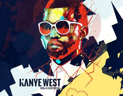 """Check out this @Behance project: """"Kanye West Album Artwork"""" https://www.behance.net/gallery/11370333/Kanye-West-Album-Artwork"""
