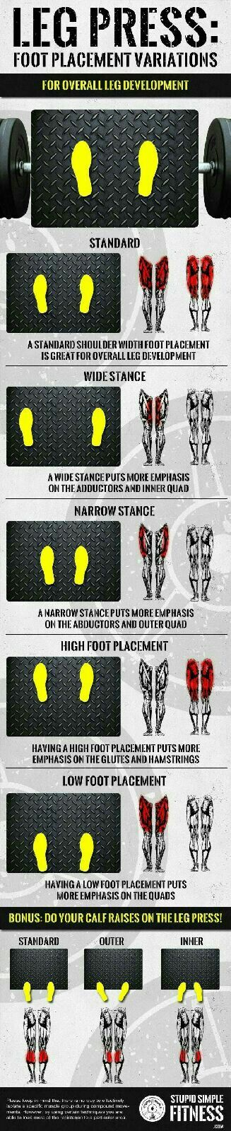 Leg Press Options