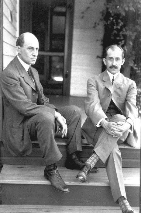1908: I fratelli Wright, Orville e Wilbur