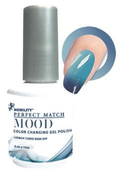 LeChat Mood Color Changing Soak Off Gel Polish - Skies The Limit - Cream - MPMG10
