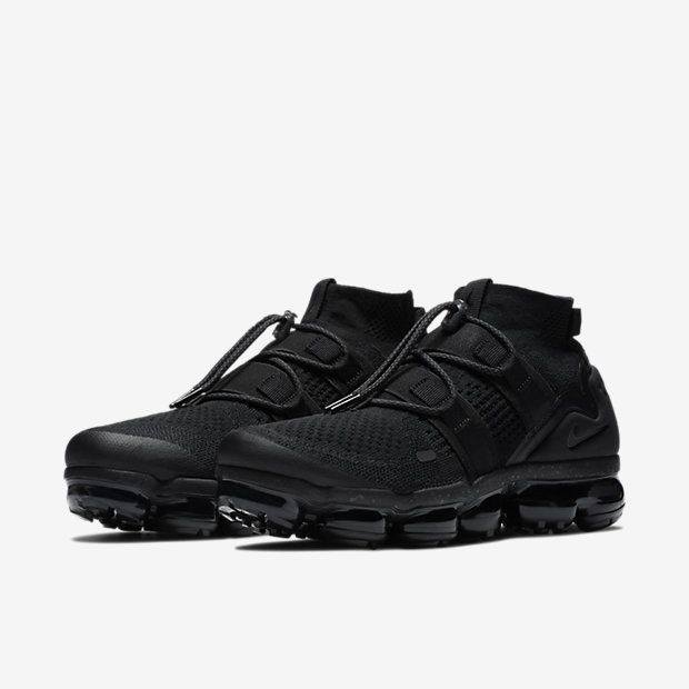 hot sales 71b12 2bc83 Nike Air Vapormax Utility Kicks Shoes, Nike Air Vapormax, Black Nikes,  Tumblr,