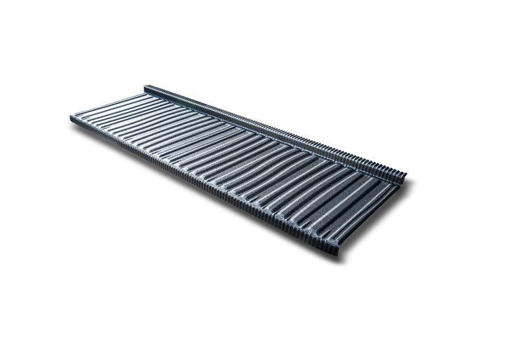 panneau tuile mod le agate imitant l 39 ardoise traditionnelle panneaux tuiles en acier galvanis. Black Bedroom Furniture Sets. Home Design Ideas
