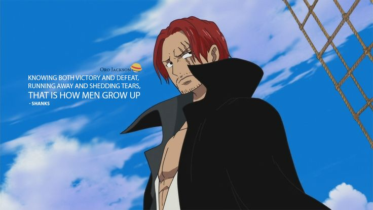 one piece shanks and luffy meet again quotes