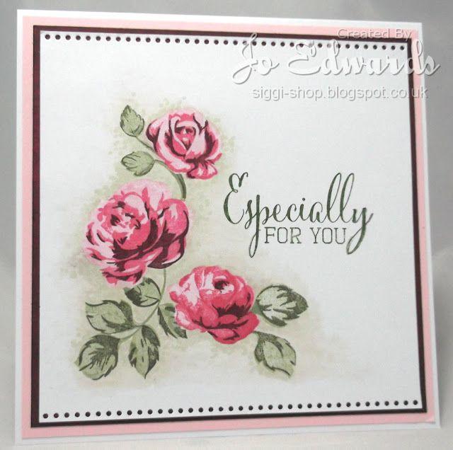 Siggi Shop: Stamping florals
