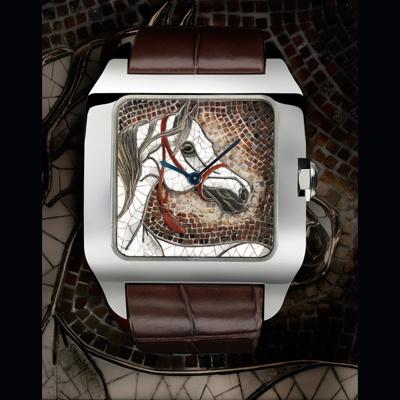 Santos-Dumont motivo cavallo (ref. HPI00526) http://www.orologi.com/cataloghi-orologi/cartier-cartier-d-art-santos-dumont-motivo-cavallo-hpi00526
