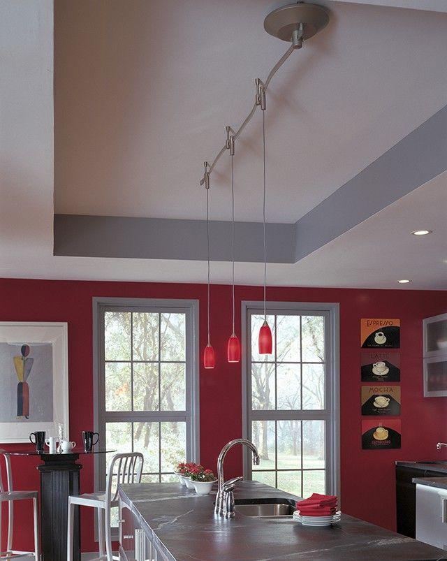 Illuma Flex Track Lighting Installed In A Kitchen From: 100+ Ideas To Try About Kitchen Inspiration