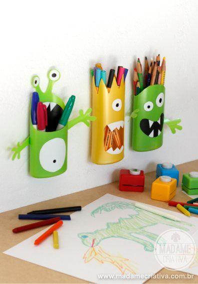 DIY - Tutorial - Shampoo Monster - How to - Madame Criativa - www.madamecriativa.com.br