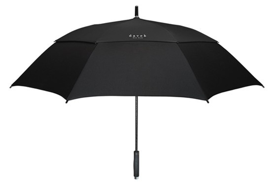 DAVEK- GOLF Umbrella Classic all Black