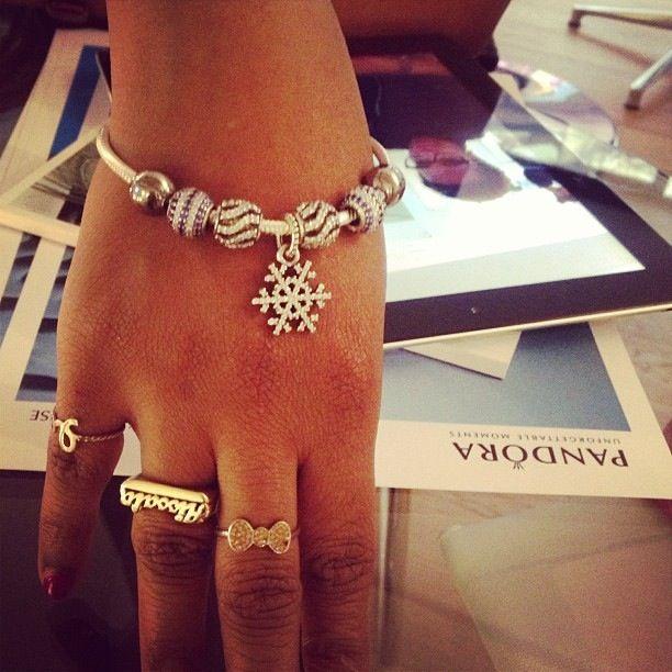 Pandora christmas charms bracelet !