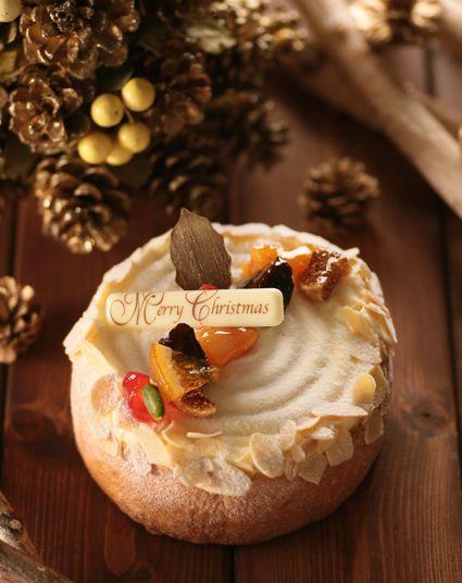 クリスマスケーキ果物