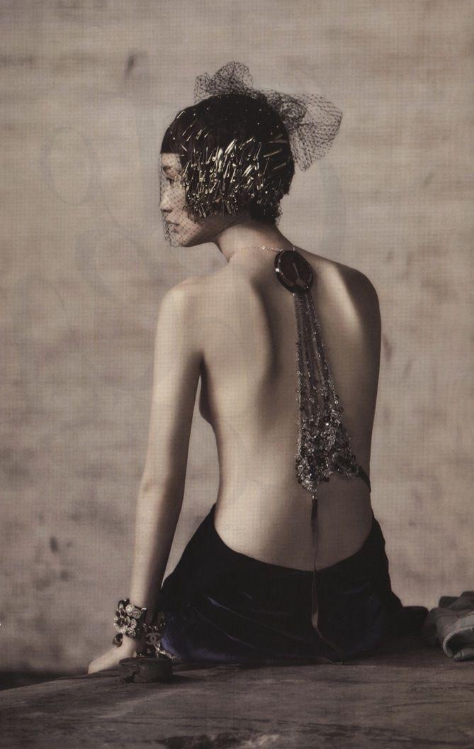 """Couture Grunge"", Park Sera by Koo Bon-Chang for Vogue Korea October 2013"