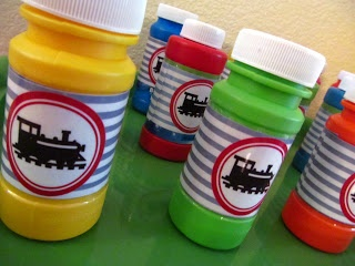 HH6: Choo! Choo! :: A train birthday party: FREE favor printables!