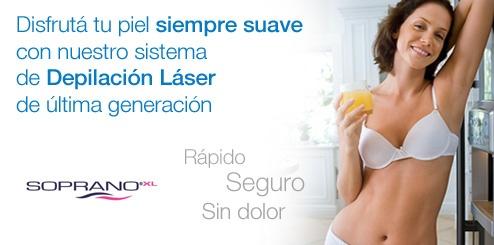 Todo sobre la depilación láser con Soprano XL  http://www.depilogie.com/notas-de-interes/115-todo-sobre-la-depilacion-laser-con-soprano-xl