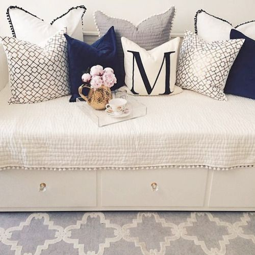 Love that there's storage under the seat pinterest: @ velvetfears