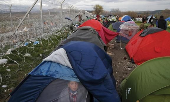 International  A migrant waiting to cross theGreek-Macedonian border ata makeshift camp in MarchPHOTO: Reuters   Sandra Bloodworth 08 April 2016   An official in Berlin refers t… http://winstonclose.me/2016/04/09/the-refugee-crisis-symbolises-a-decaying-system-written-by-sandra-bloodworth/