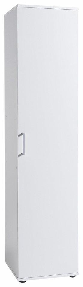 Mehrzweckschrank »Dom«, Breite 40 cm ab 109,99€. 1 Tür, Pflegeleichte Oberfläche, Türanschlag wechselbar, Maße (B/T/H): 40/39/178 cm, Made in Germany bei OTTO
