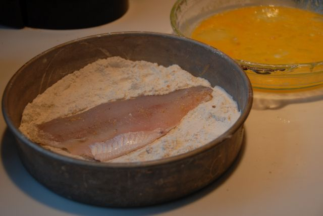 How to cook Lake Erie Perch.