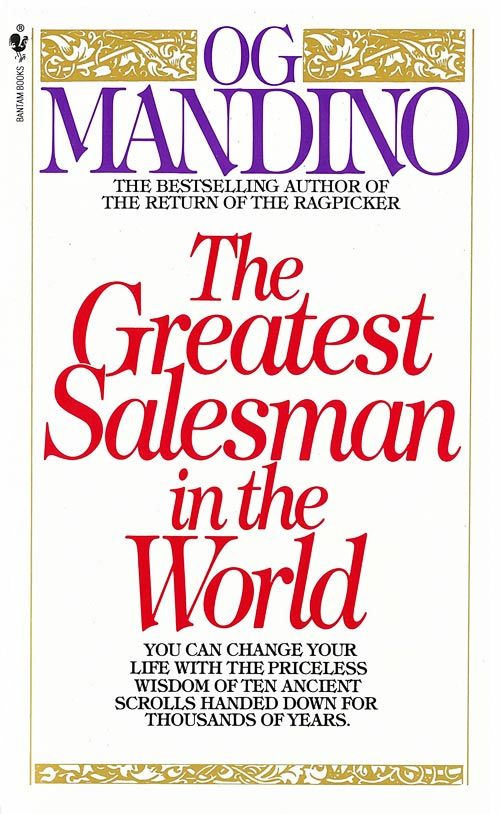 The Greatest Salesman in the World.: Worth Reading, Ogmandino, Life, Books Worth, Greatest Salesman, Favorite Books, Reading Lists, Og Mandino, The World