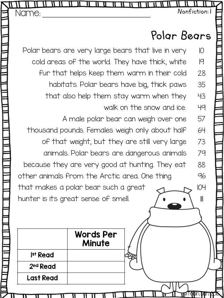 Winter Activities For Fluency