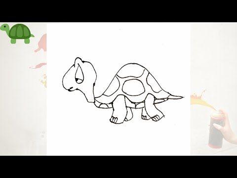 تعلم رسم سلاحف بطريقة سهلة رسومات سهلة وجميلة للاطفال و المبتدئين سلسله رسم حيوانات وطيور Turtle Youtube In 2021 Drawings Home Decor Decals Art