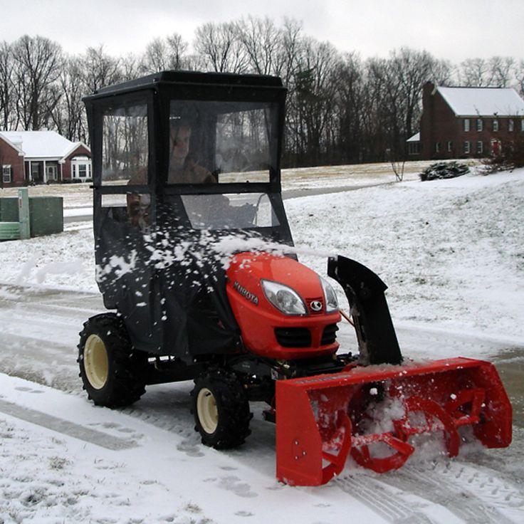 Acme Garden Tractor : Best kubota tractor accessories cabs canopies