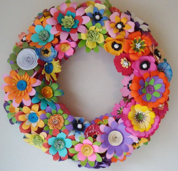 Paper Flower Spring Summer  Day of The by SweetPeaPaperFlowers, $65.00
