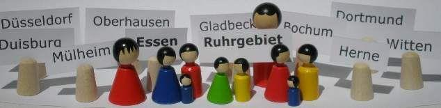 Professionelle Seminare Familienstellen und Familienaufstellungen in Essen (Ruhrgebiet, NRW).