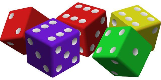 Gry matematyczne z wykorzystaniem kostek do gry