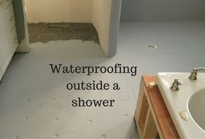Waterproofing is not sexy...but it is important in a bathroom. Learn some bathroom installation tricks to make sure your bathroom stands the test of time. Click through to learn more.