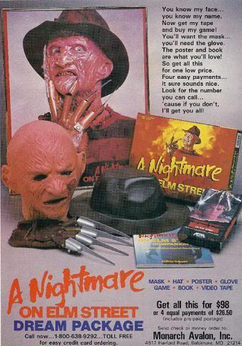 Vintage Print Ads : Freddy's Dream Package!