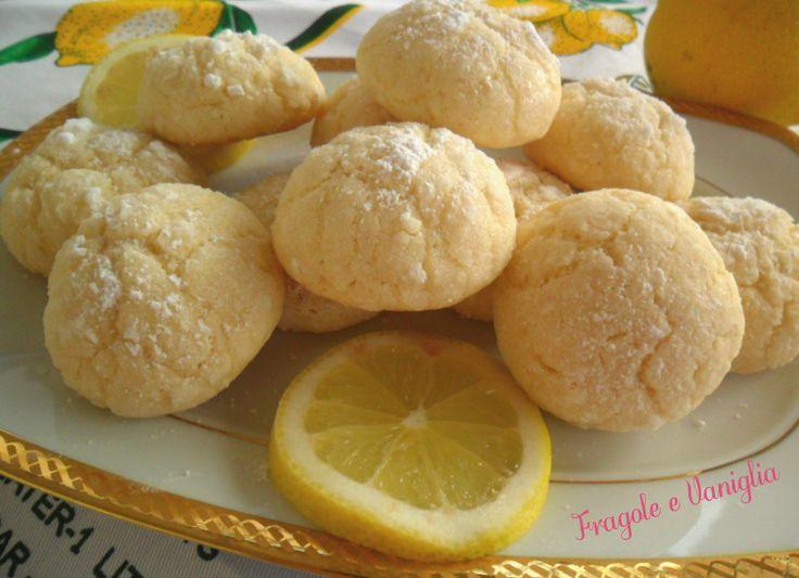 #Biscottini al #limone croccanti fuori...morbidi dentro!