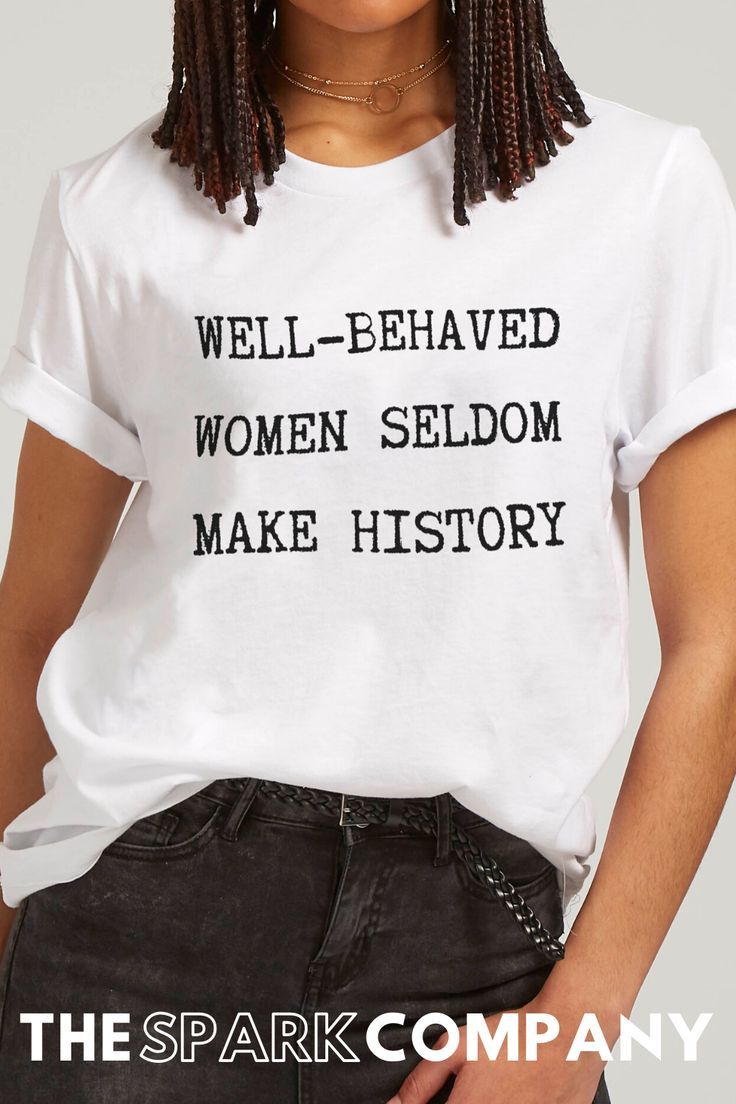 Badass Feminist Apparel in 2020 Feminist clothes