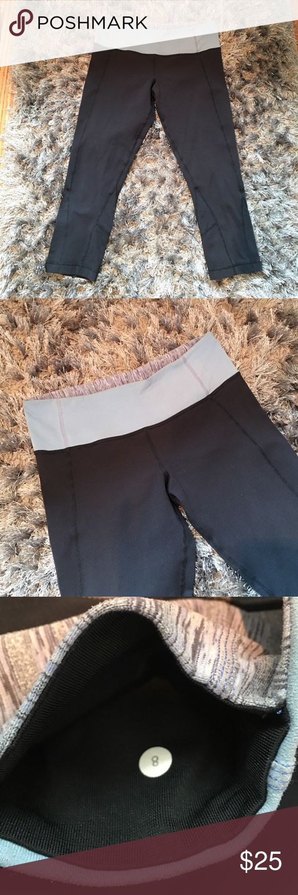 Lululemon Athletica Capris size 8 Worn once Washed Clean Flawless Like new Size 8 Lululemon athletica lululemon athletica Pants Capris